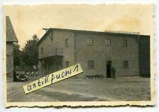 Foto : Unterkunft Fern Aufklärungs-Gruppe Tannenberg in Wiesenhof in Polen 1939