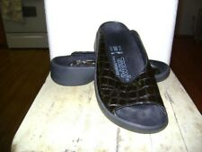 Birkenstocks Tatami Black Patent Leather Sandals size 37 Excellent Condition