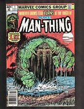 """The Man-Thing #1 ~""""Regeneration -- and Rebirth"""" ~ 1979 (7.5) WH"""