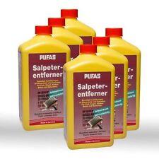 6 x Pufas Salpeterentferner 1l - Salpeter Entferner Reiniger gegen Ausblühungen