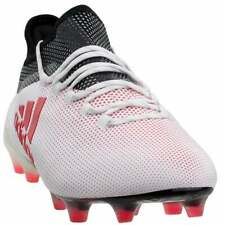 adidas X 17.1 Firm Ground  Casual Soccer Firm Ground Cleats White - Mens - Size