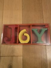 M&S Ceramic Letters Room Decoration New