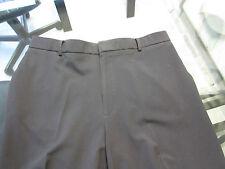 "Men's Dockers Dress Pants  Blk   37"" W  31"" ½ L  Poly 62% Viscose 33% Spandex 5%"