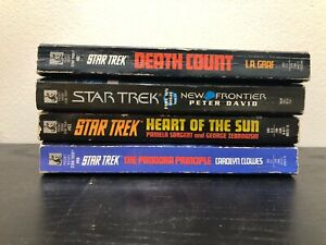 Star Trek paperback book bundle x 4