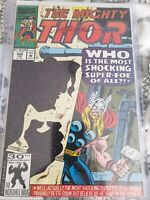 Ron Frenz autographed The Mighty thor #444 with COA