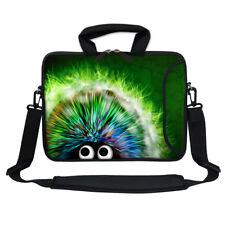 """11.6"""" 12.3"""" Neoprene Laptop Bag Case w. Side Pocket Shoulder Strap Handle  2721"""