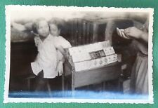 PHOTO ARGENTIQUE INDOCHINE 1950 TA NAN COCHINCHINE COLONIES FRANCE Marché