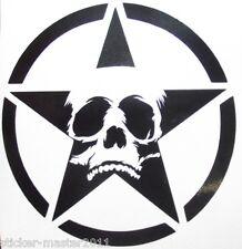 Tank Aufkleber Für Harley Suzuki Chopper Bike  R. u. L.  Skull Gost Star Vintage