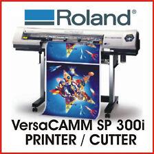 ROLAND PRINT AND CUT - ROLAND VersaCAMM SP 300i - PROTECH CNC