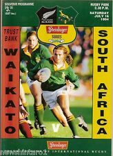 #T3.  RUGBY UNION PROGRAM -  WAIKATO  V SOUTH AFRICA, JULY 16th  1994
