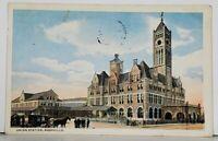 Nashville TN Union Station Postcard K8