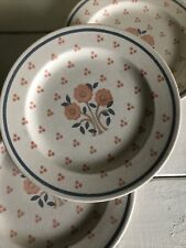3 Royal China OHIO Vintage PEACH TREE Dinner Plate