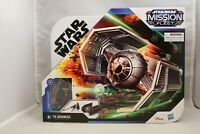 Star Wars Mission Fleet Tie Advanced Fighter with Darth Vader Figure