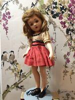 "Vintage Wendy Ann 14"" Doll Madame Alexander New York"