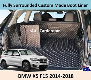 BMW X5 2014-2018 F15 Premium Custom Made Trunk Boot Mats Liner Cargo Mat Cover