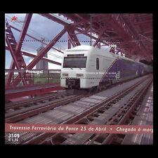 Portugal 1999 - Railway over the Tejo-Bridge in Lisbon Train - Sc 2315 MNH