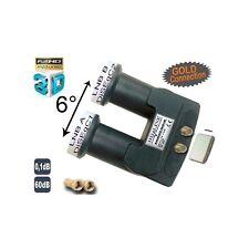 monobloc TWIN HD-LINE avec connecteur or LNB 0.1db FULL HD 3D astra 19.2°