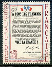 STAMP / TIMBRE FRANCE OBLITERE N° 1408 APPEL DU GENERAL DE GAULE