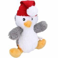 Dog Gift Christmas Festive Plush Penguin Super Soft Squeaky Plush Toy Present