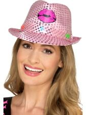 LUMINOSO FINO paillettes GALLINA PARTY TRILBY HAT