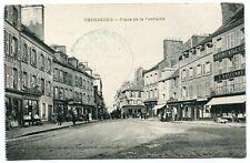CPA - Carte Postale - France - Cherbourg - Place de la Fontaine - 1914 (M8078)