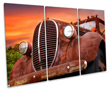 Canvas Framed Sunset Decorative Posters & Prints