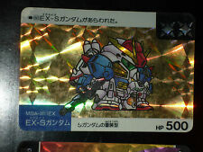 SD GUNDAM SUPER DEFORMED CARD CARDDASS PRISM CARTE 86 BANDAI JAPAN 1990 G+>EX+