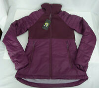 Women's Champion Softshell Hybrid Jacket XS X-Small Full Zip Lightweight Purple