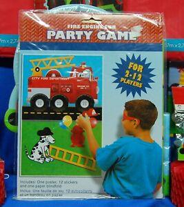 Fireman Party Set # 18 Plates Napkins Centerpiece Invites Thanks Banner Game