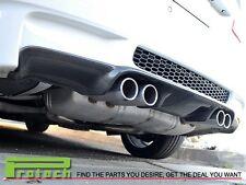 3D Look Carbon Fiber Bumper Diffuser Add on For BMW 2008-2013 E92 E93 M3 only