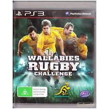 PLAYSTATION 3 WALLABIES RUGBY CHALLENGE PAL PS3 [ULN] YOUR GAMES PAL
