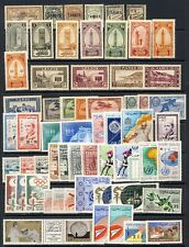 French Morocco,Morroco mlh collection of 4 stockpages
