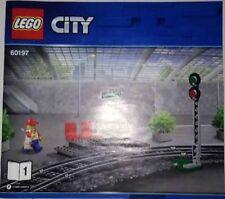 Lego 60197 Bahnsteig mit  Signalmast aus Set 60197  NEU