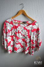 New Look Viscose Scoop Neck Floral Tops & Shirts for Women