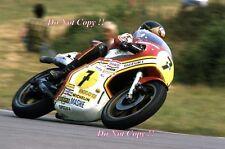 BARRY SHEENE SUZUKI RG500 World Champion 1976 & 1977 Photographie 6