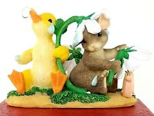 Fitz & Floyd Charming Tails-Ducky Weather Figurine