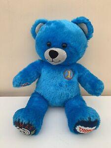 "Build a Bear Thomas The Tank Engine & Friends Plush Blue 16"" - BABW"