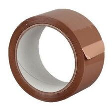 72 Rolls strong BROWN TAPE - - - cellotape packaging wide big long parcel colour