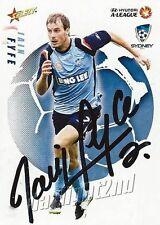 ✺Signed✺ 2008 2009 SYDNEY FC A-League Card IAIN FYFE