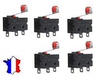 Arduino Lot de 5 Micro switch Interrupteur Fin de Course a Roulette
