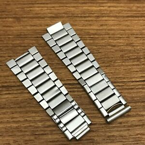 rare 1960s Omega Speedmaster Flat Link Bracelet LINKS for Parts