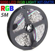 5M 5050 SMD RGB Flexible Strip LED Light 12V 300 LED Lamp Wedding Xmas Decor AU