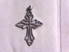 JAMES AVERY, ST CECILIA CROSS PENDANT, .925, RETIRED!! (18003427)