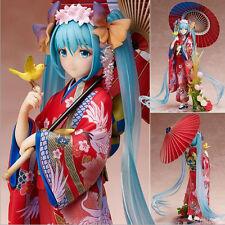 Stronger Hatsune Miku Flowers Kimono Ver. 1/8 PVC Figure Anime Toy Gift