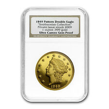 1 oz Gold Round - 1849 Pattern Double Eagle Proof NGC - SKU #58248