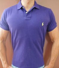 New NWT Mens Polo Ralph Lauren Polo Shirt Muscle Custom Fit  Small