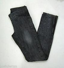 Kate Moss X Topshop Biker Zip Up Jeans US 4 UK 8