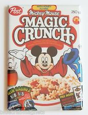 Mickey Mouse Cereal Fridge Magnet (2 x 3 inches) box sorcerer's apprentice