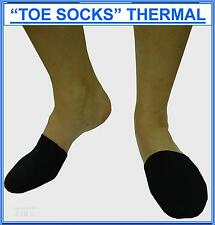 THERMAL TOE WARMERS, Neoprene, Unisex, per pair.