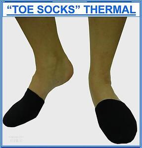 THERMAL TOE WARMERS, Neoprene, Unisex, per pair.